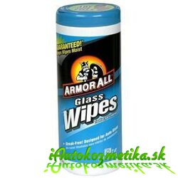 ARMOR ALL Utierky na sklo - Glass Wipes 30Ks