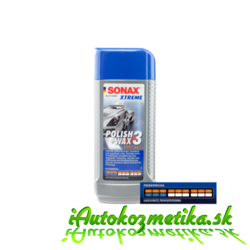 SONAX Xtreme - Polish & Wax 3 250ml